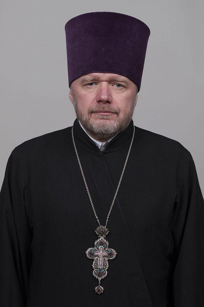 Помощник благочинного I-го Тверского округа. Протоиерей Александр Юрьевич Шабанов