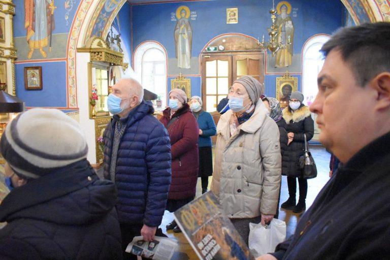 Миссионерский молебен в Никольской церкви Твери