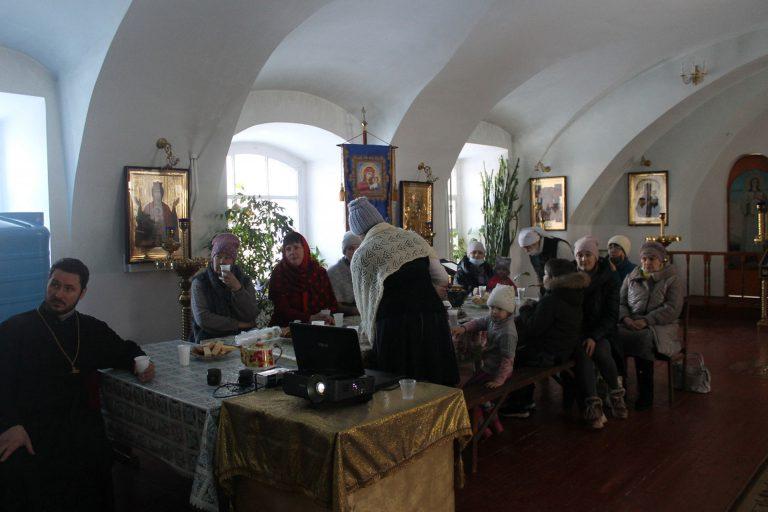 Миссия на праздник Сретения в Ильинском храме Торжка