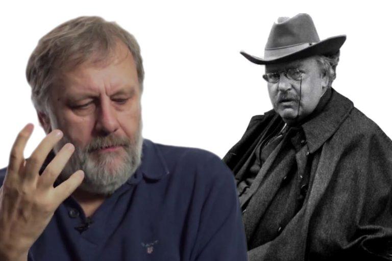 Честертон и Жижек: из истории философской инверсии