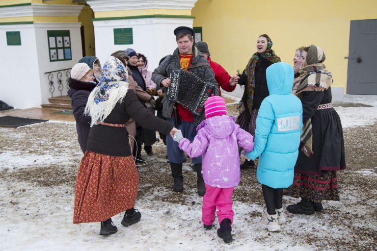 Праздник Масляницы на Казанском приходе