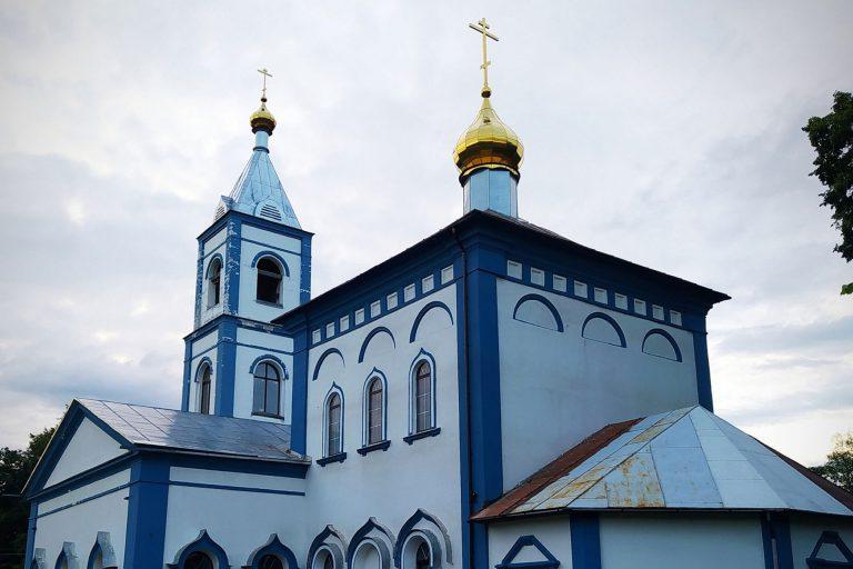 Заместитель председателя миссионерского отдела посетил храм Рождества Богородицы в д. Щербинино