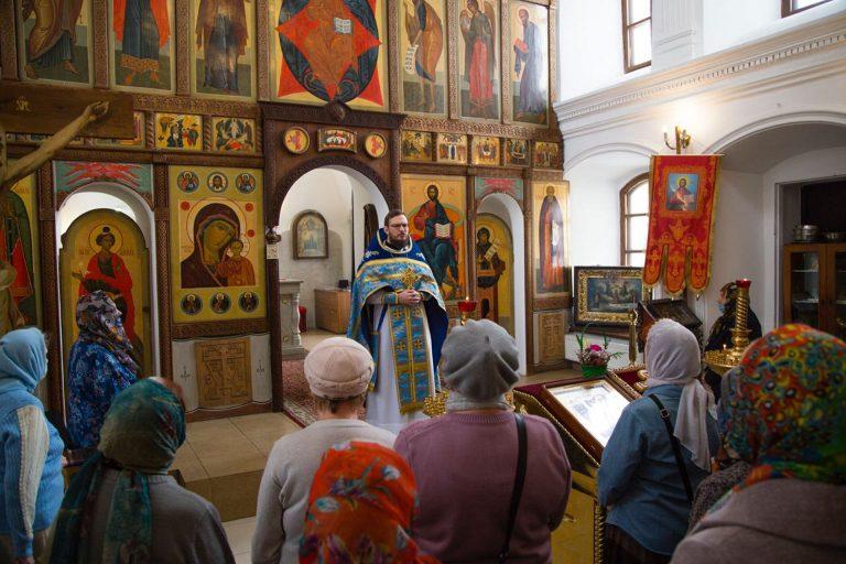 Праздник Благовещения в Казанском храме