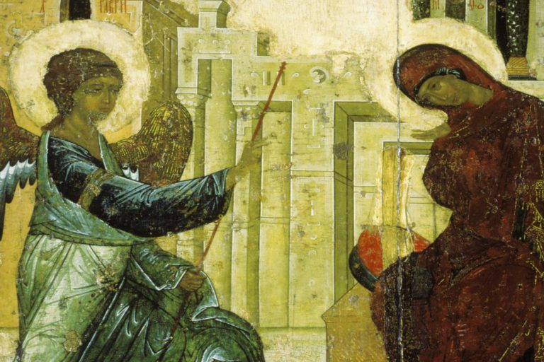 Иконография праздника Благовещения