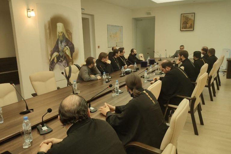 Встреча священников-блогеров на XXIX Международных образовательных чтениях