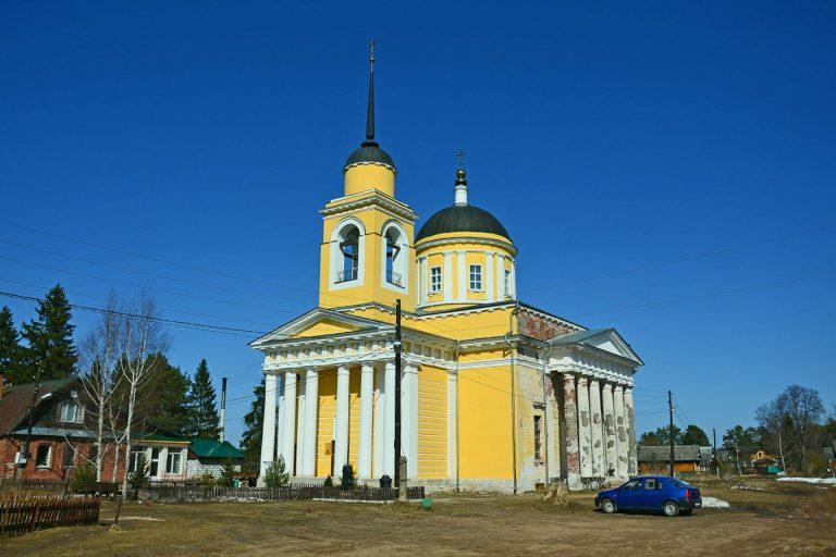 Вознесенская церковь в Дудино, Калининский район