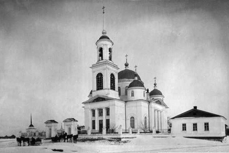 Николая Чудотворца церковь в Никольском -Городище, Калининский район