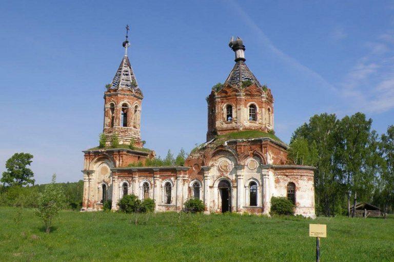 Троицы Живоначальной церковь в Заборовье, Калининский район
