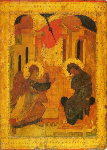 БлаговещениеТроице-Сергиева Лавра1425–1427 гг.