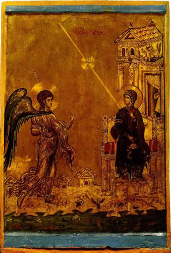 БлаговещениеМонастырь св. Екатерины, СинайКонец XII в.