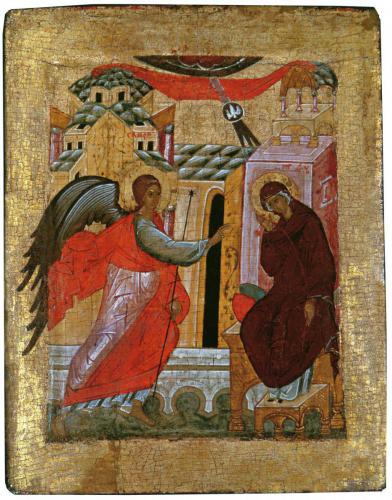 БлаговещениеВладимиро-Суздальский музейКонец XV — начало XVI вв.