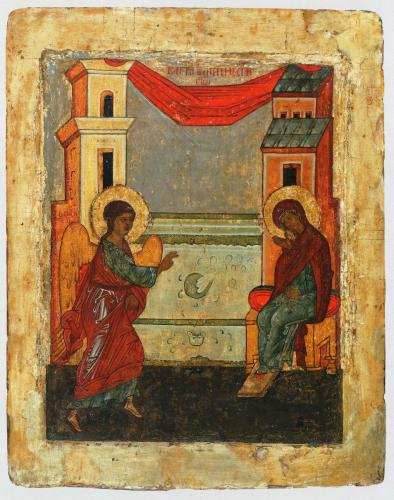 БлаговещениеСобрание В. М. МомотаКонец XV — начало XVI вв.