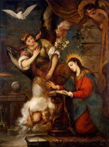 Jose Claudio Antolinez. The Annunciation.