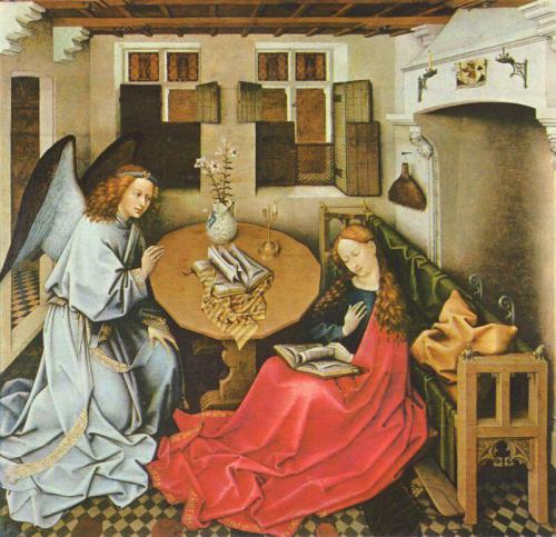 Robert Campin. The Annunciation. 1440