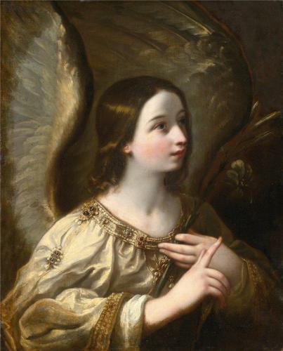 Guido Reni (1575-1642) Ангел Благовещения