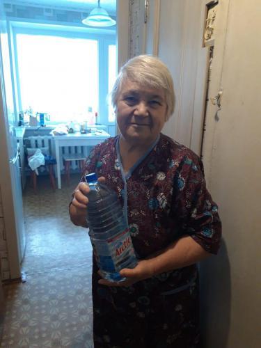 Власьево. Доставка воды инвалидам