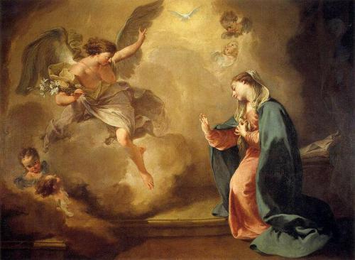 «Благовещение». Джованни Батиста Питони. 1758